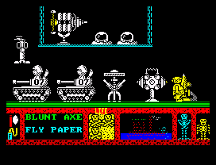 Three Weeks in Paradise ZX Spectrum 45