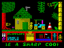 Three Weeks in Paradise ZX Spectrum 50