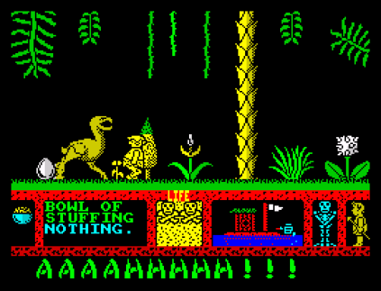 Three Weeks in Paradise ZX Spectrum 53