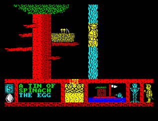Three Weeks in Paradise ZX Spectrum 54