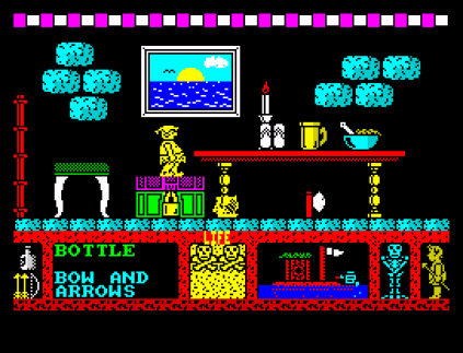 Three Weeks in Paradise ZX Spectrum 56