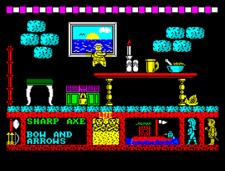 Three Weeks in Paradise ZX Spectrum 62