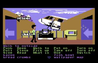Zak McKracken C64 56
