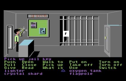 Zak McKracken C64 64
