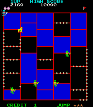 Amidar Arcade 05