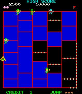 Amidar Arcade 06
