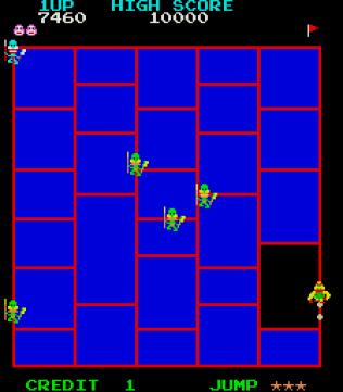 Amidar Arcade 08