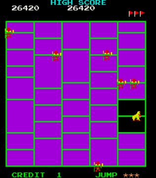 Amidar Arcade 32