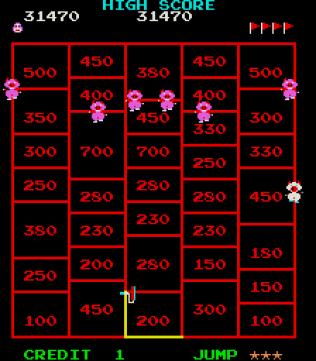Amidar Arcade 34