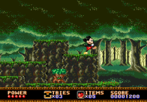 Castle of Illusion Megadrive Genesis 007