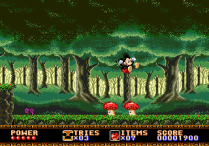 Castle of Illusion Megadrive Genesis 008