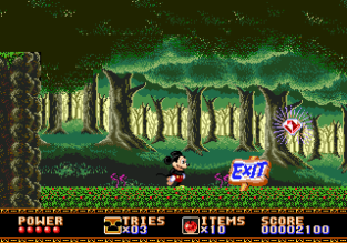 Castle of Illusion Megadrive Genesis 009