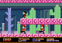 Castle of Illusion Megadrive Genesis 016