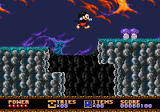 Castle of Illusion Megadrive Genesis 022