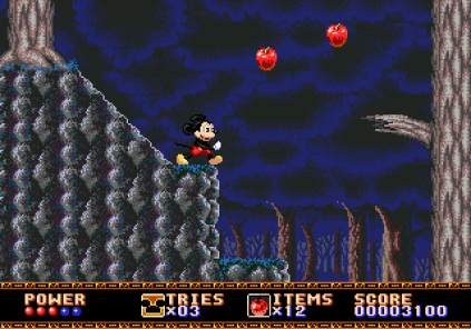 Castle of Illusion Megadrive Genesis 034