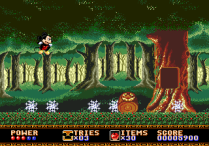 Castle of Illusion Megadrive Genesis 046