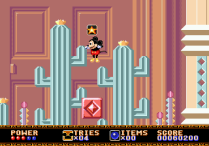 Castle of Illusion Megadrive Genesis 051