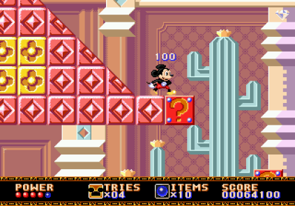 Castle of Illusion Megadrive Genesis 053