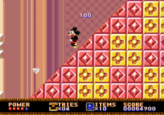 Castle of Illusion Megadrive Genesis 054