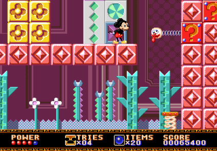 Castle of Illusion Megadrive Genesis 056