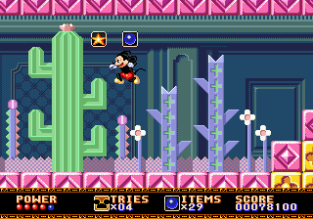 Castle of Illusion Megadrive Genesis 067