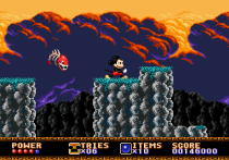 Castle of Illusion Megadrive Genesis 081