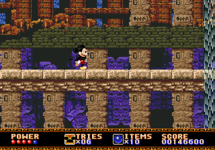 Castle of Illusion Megadrive Genesis 086