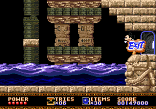 Castle of Illusion Megadrive Genesis 097