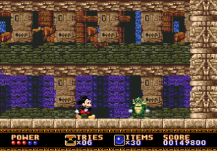 Castle of Illusion Megadrive Genesis 098