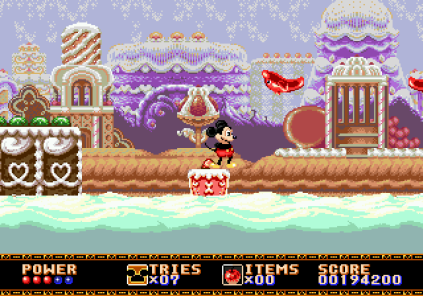 Castle of Illusion Megadrive Genesis 100