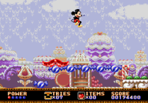 Castle of Illusion Megadrive Genesis 101