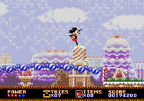 Castle of Illusion Megadrive Genesis 105