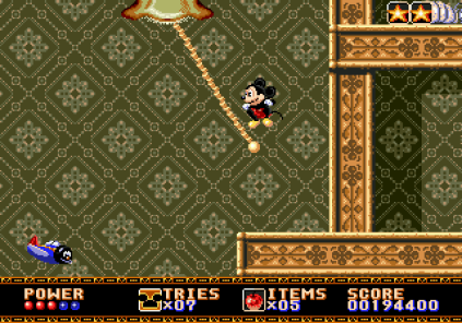 Castle of Illusion Megadrive Genesis 108