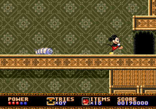 Castle of Illusion Megadrive Genesis 120