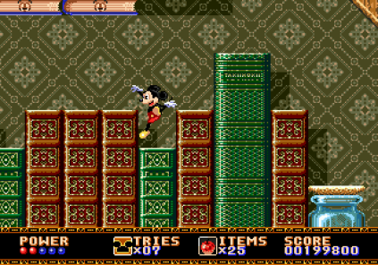 Castle of Illusion Megadrive Genesis 122
