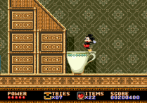 Castle of Illusion Megadrive Genesis 123
