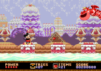 Castle of Illusion Megadrive Genesis 127