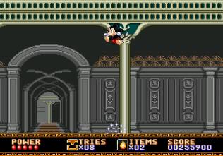 Castle of Illusion Megadrive Genesis 132