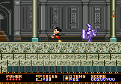 Castle of Illusion Megadrive Genesis 133