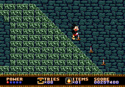 Castle of Illusion Megadrive Genesis 141