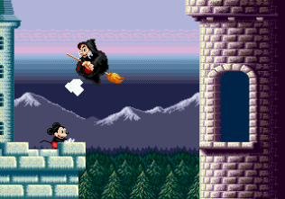 Castle of Illusion Megadrive Genesis 143