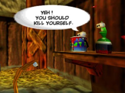 Conker's Bad Fur Day N64 122