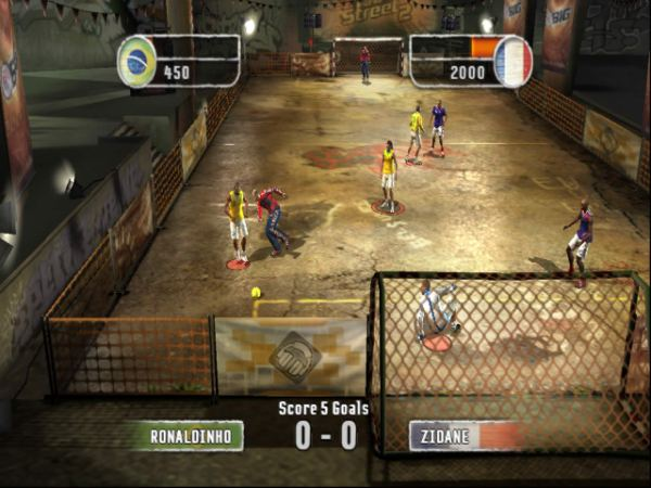 Fifa Street 2 Xbox The King Of Grabs