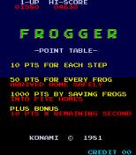 Frogger Arcade 01