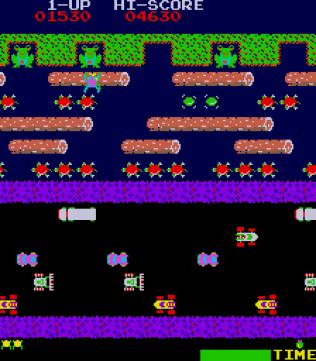 Frogger Arcade 16