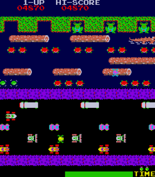 Frogger Arcade 32