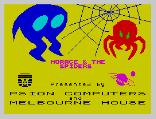 Horace and the Spiders ZX Spectrum 01