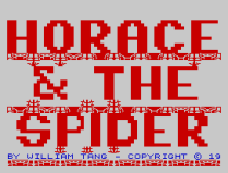 Horace and the Spiders ZX Spectrum 02