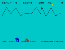 Horace and the Spiders ZX Spectrum 03