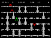 Horace and the Spiders ZX Spectrum 07